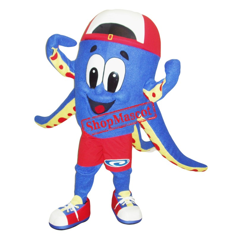 Superb Octopus Mascot Costume