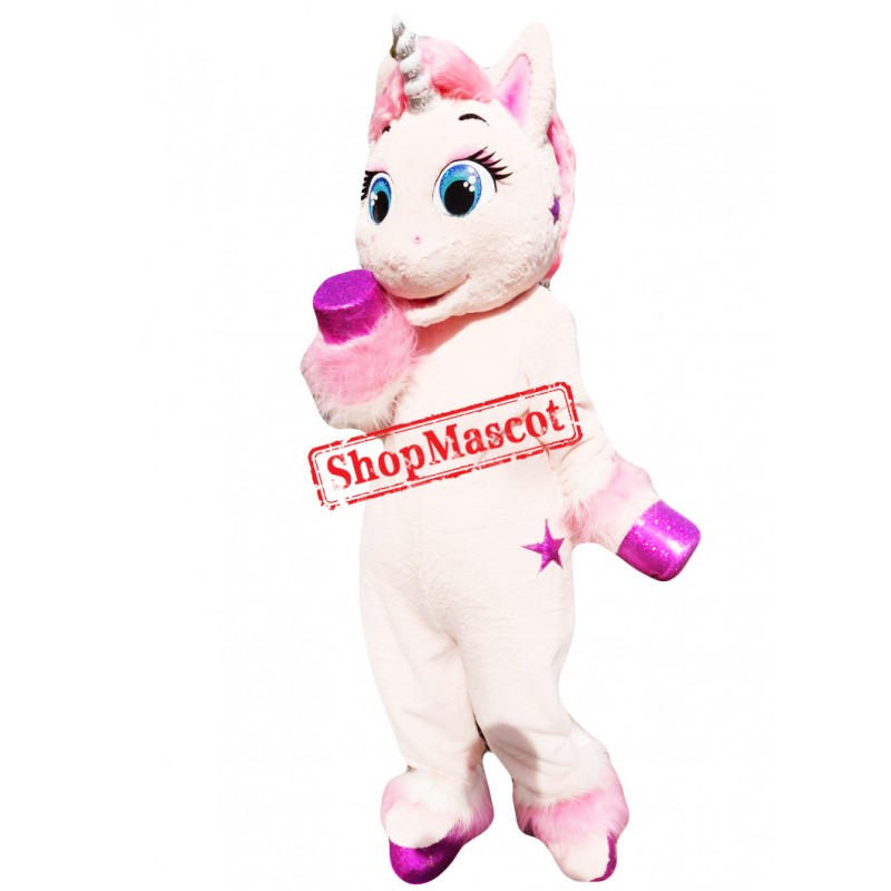 Superb Unicorn Mascot Costume