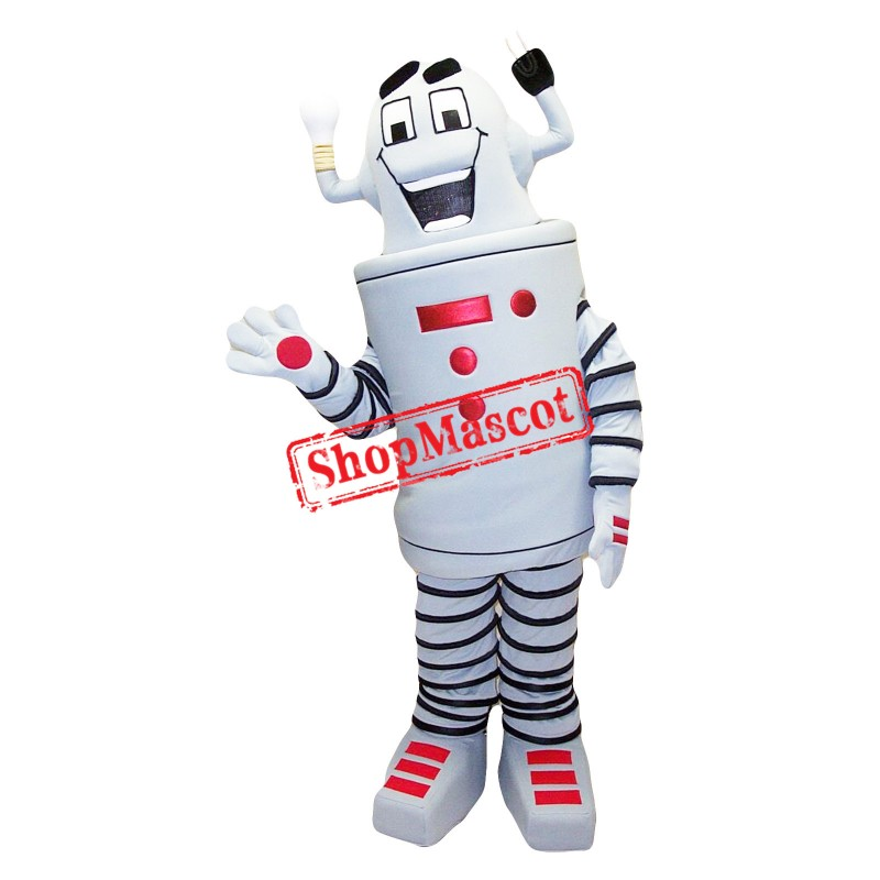 Superb Robot Mascot Costume