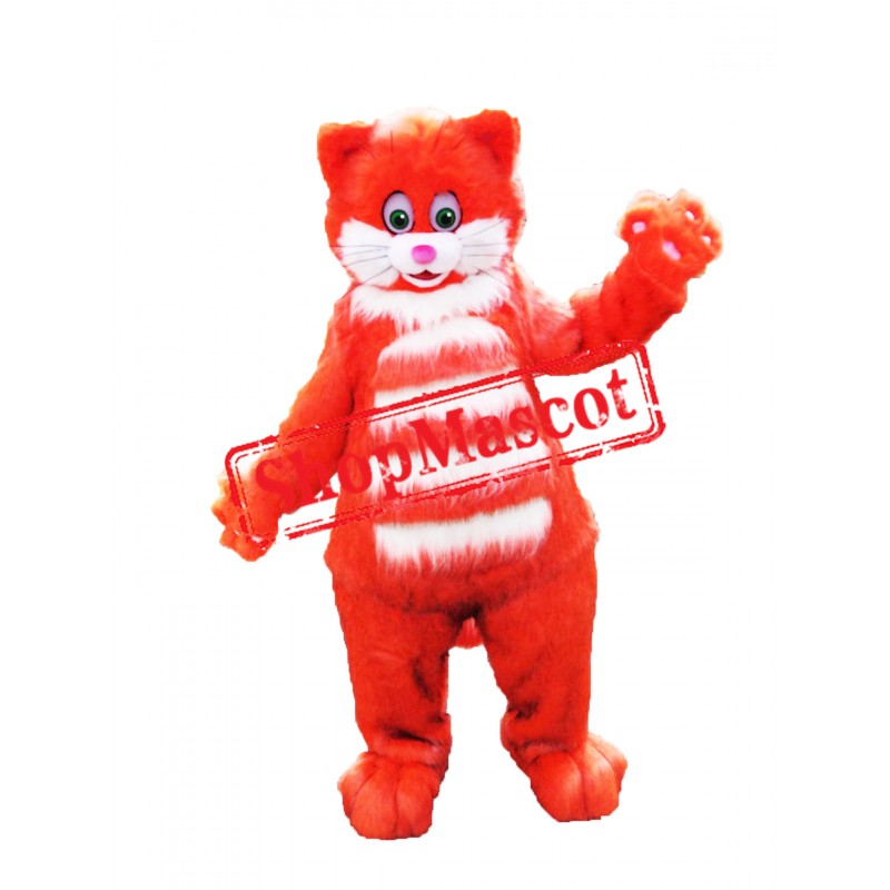 Superb Cat Mascot Costume
