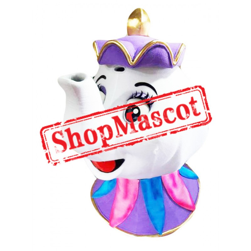 Mrs. Potts Teapot Beauty and The Beast Mascot Costume