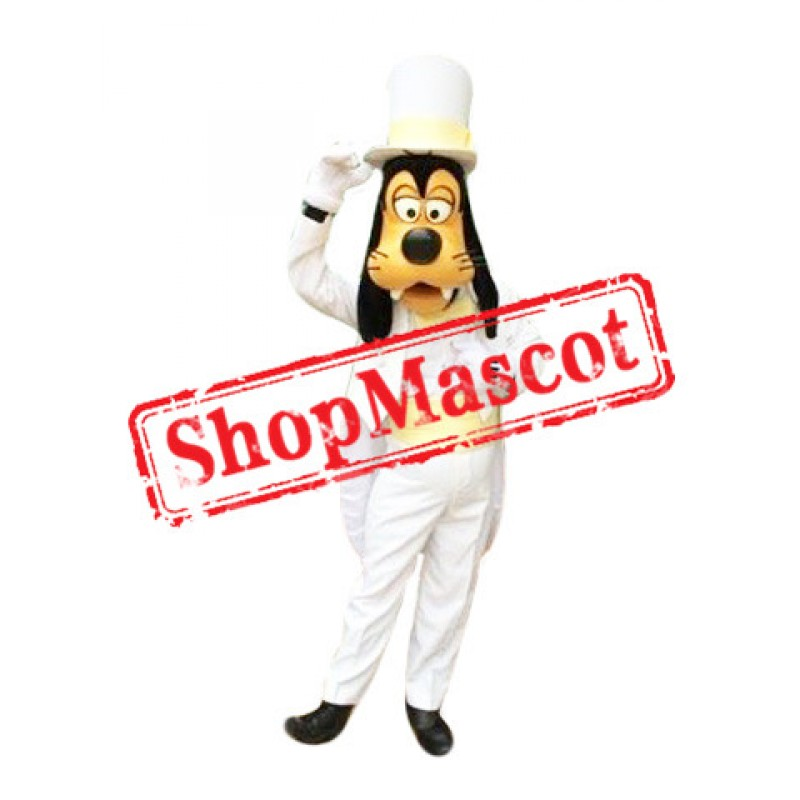 Handsome Goofy Mascot Costume