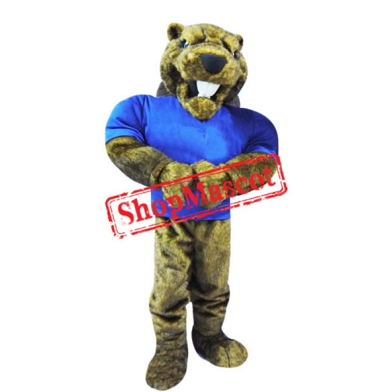 Power College Beaver Mascot Costume
