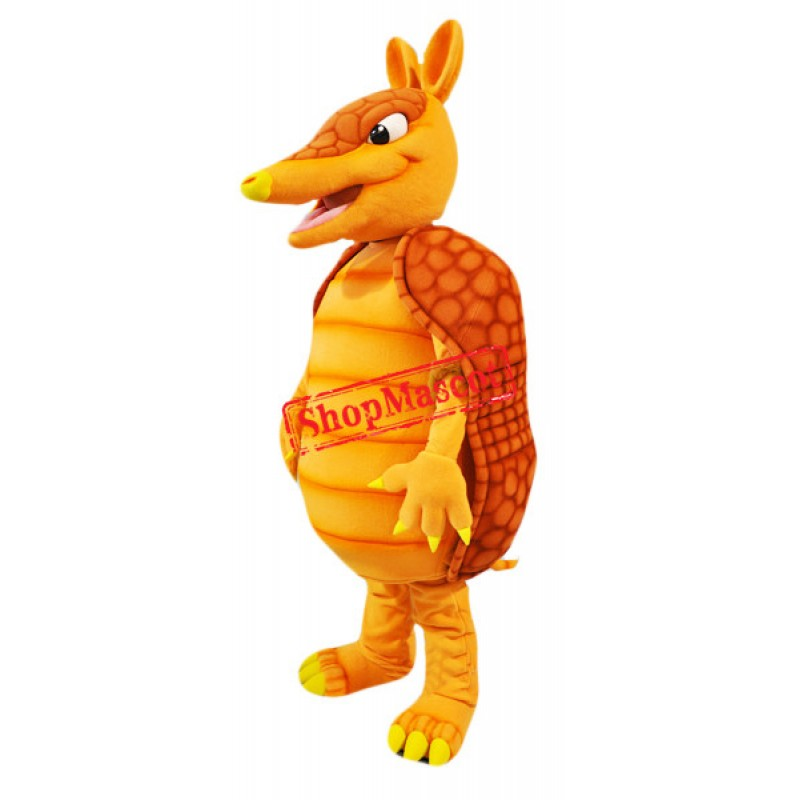 Superb Armadillo Mascot Costume