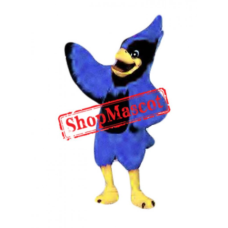 Superb Blue Jay Mascot Costume