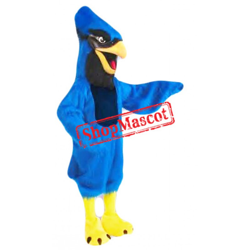 Superb Lightweight Blue Jay Mascot Costume