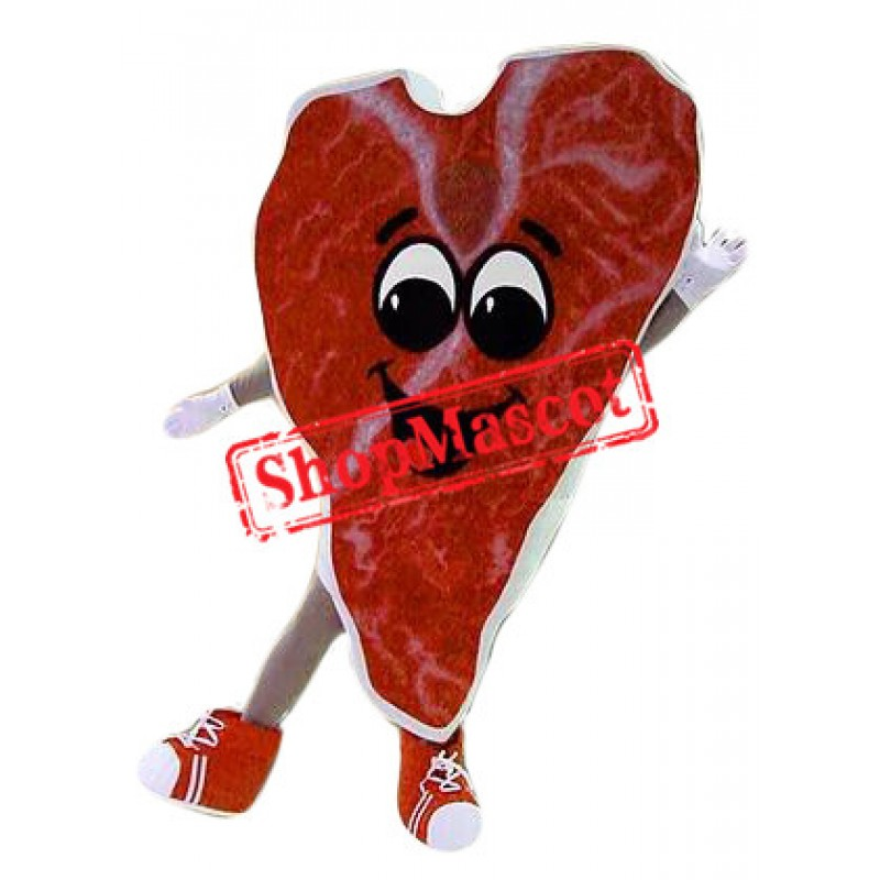 Steak Mascot Costume