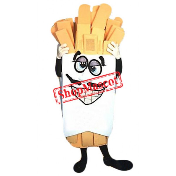 Superb French Fries Mascot Costume