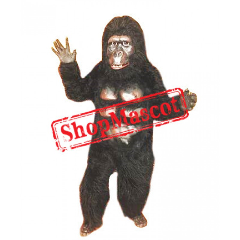 Superb Gorilla Mascot Costume