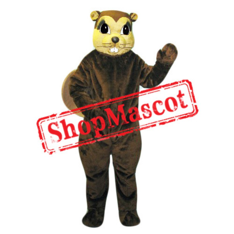 Superb Lightweight Beaver Mascot Costume