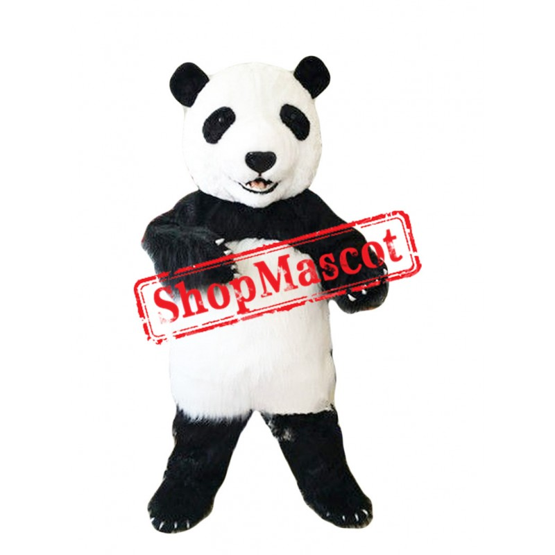 Superb Cute Panda Mascot Costume