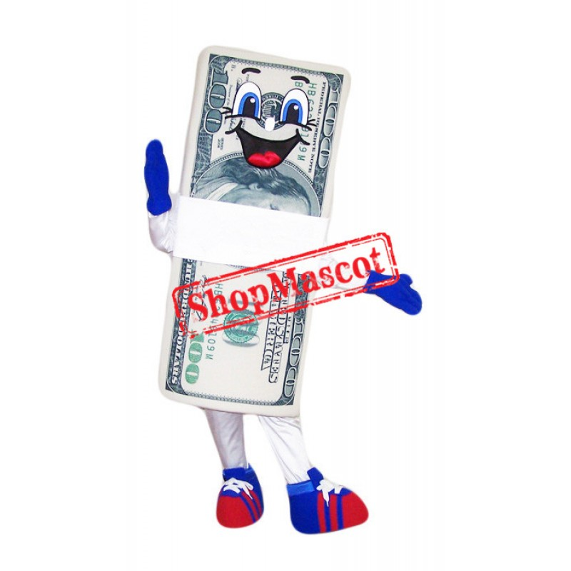 Happy Lightweight Money Mascot Costume