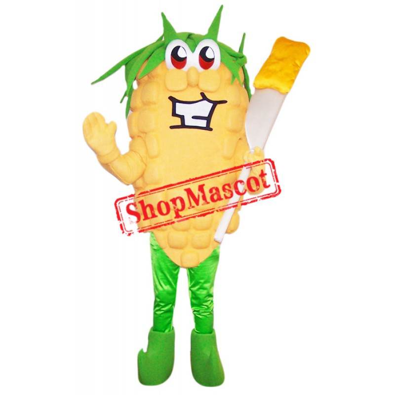 Happy Lightweight Corn Mascot Costume