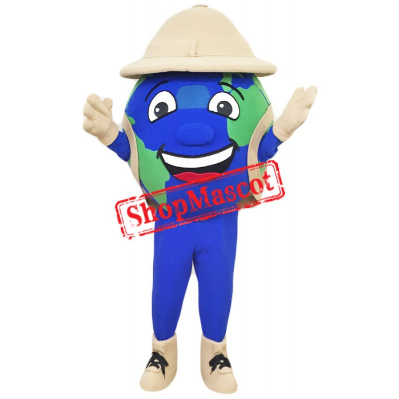 Happy Globe Mascot Costume