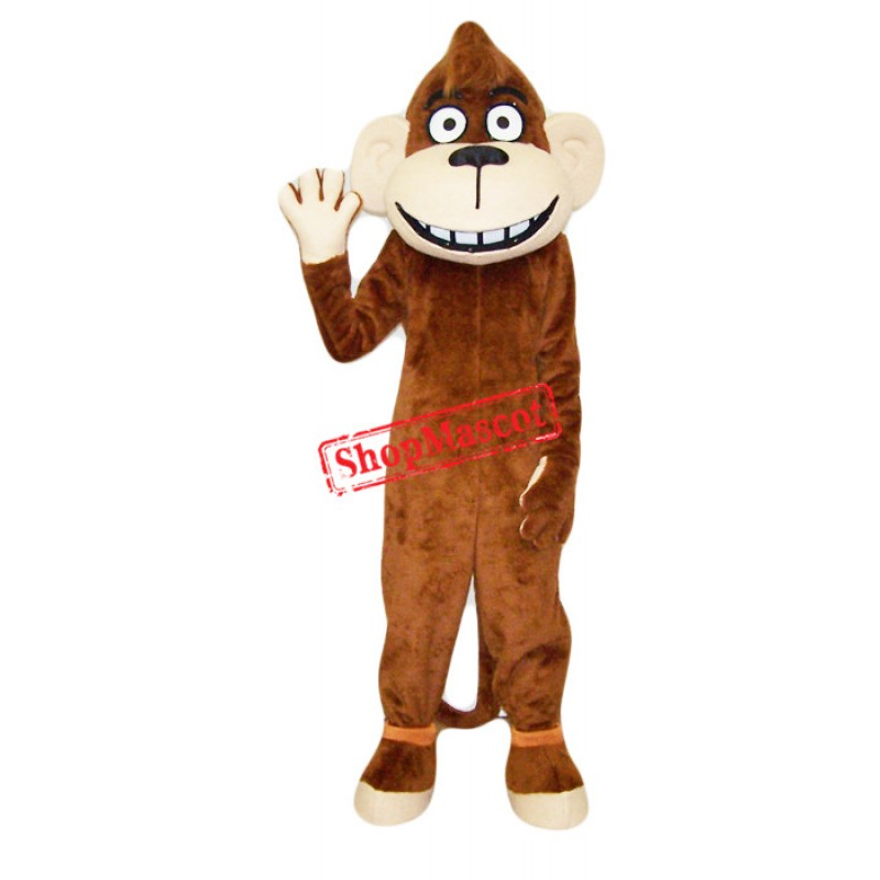 Superb Monkey Mascot Costume
