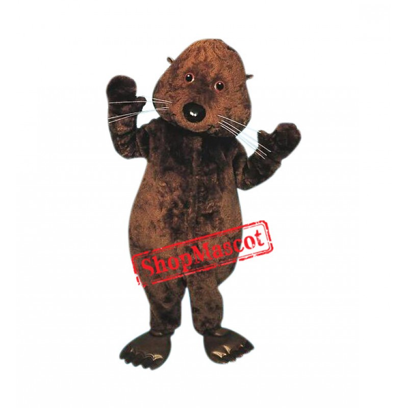 Superb Otter Mascot Costume