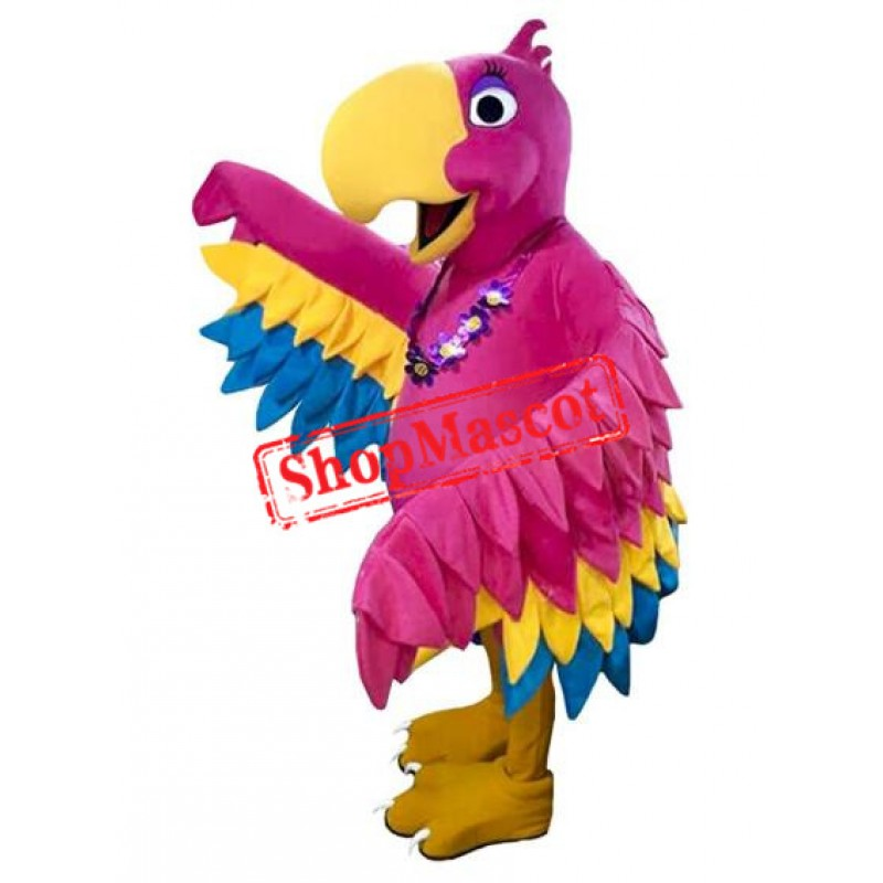 Parrot Girl Animal Mascot Costume