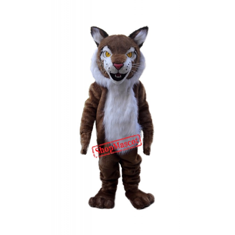 Wild Cat Bobcat Mascot Costume