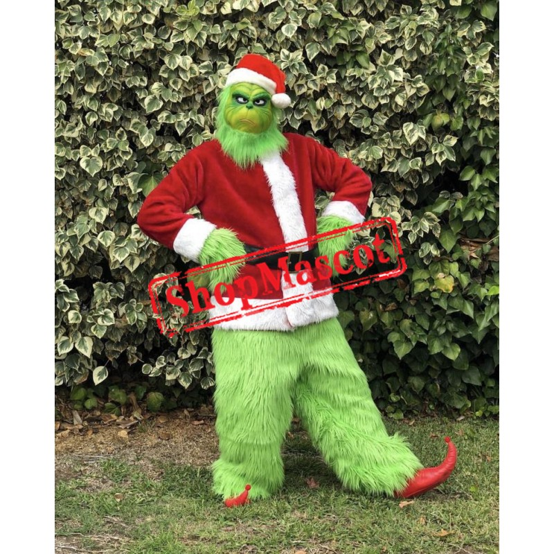 Superb Lightweight Christmas Grinch Mascot Costume