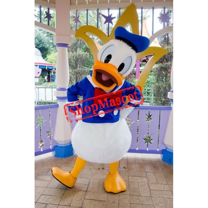Superb Donald Duck Mascot Costume