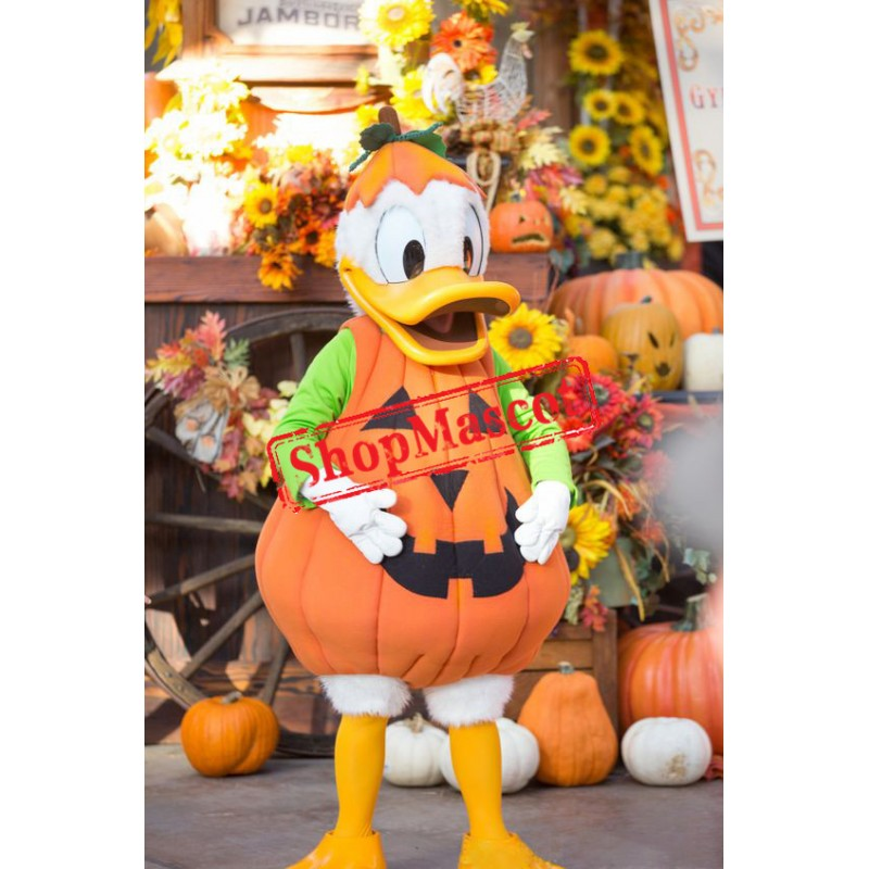 Halloween Donald Duck Mascot Costume