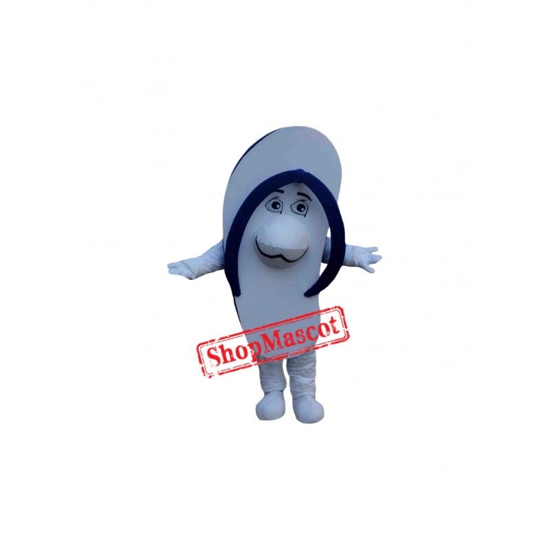 Blue Slipper Mascot Costume