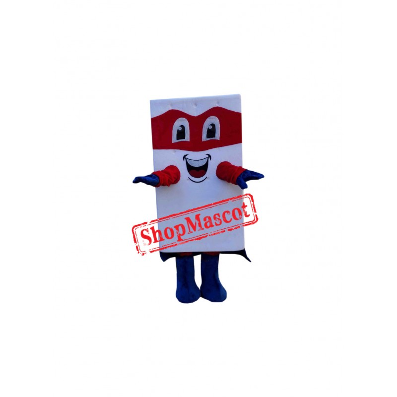 Mattress Man Mascot Costume
