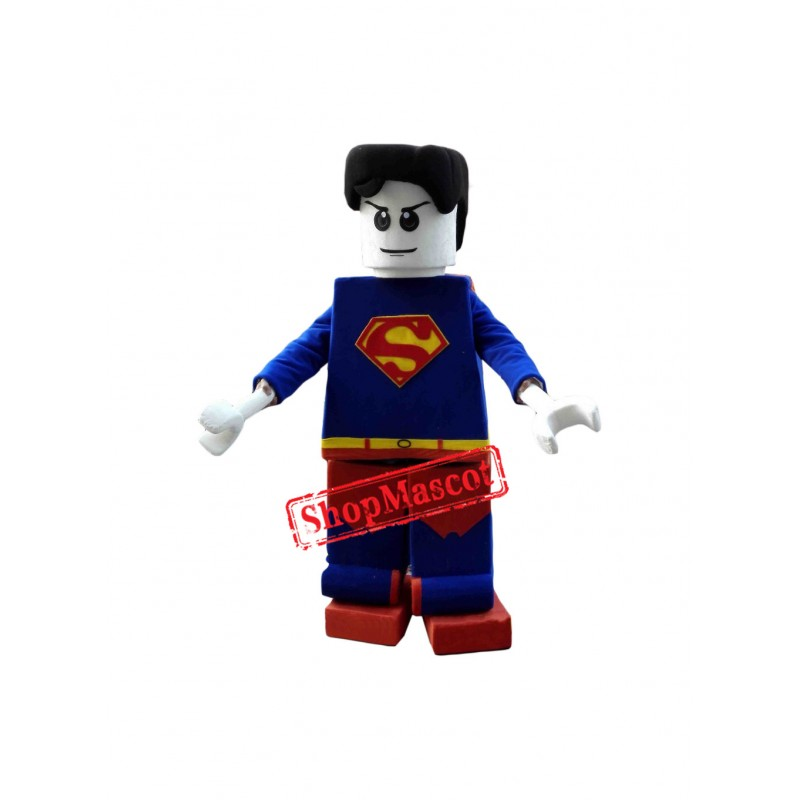 Hero Superman Mascot Costume