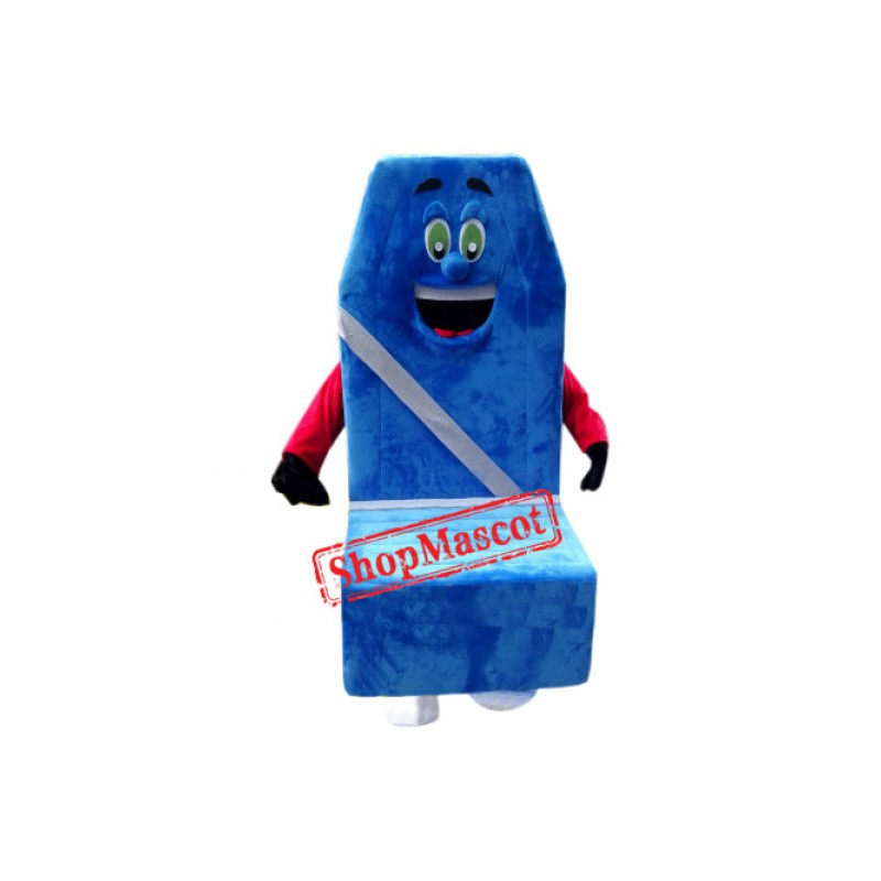 Seat Cushion Mascot Costume