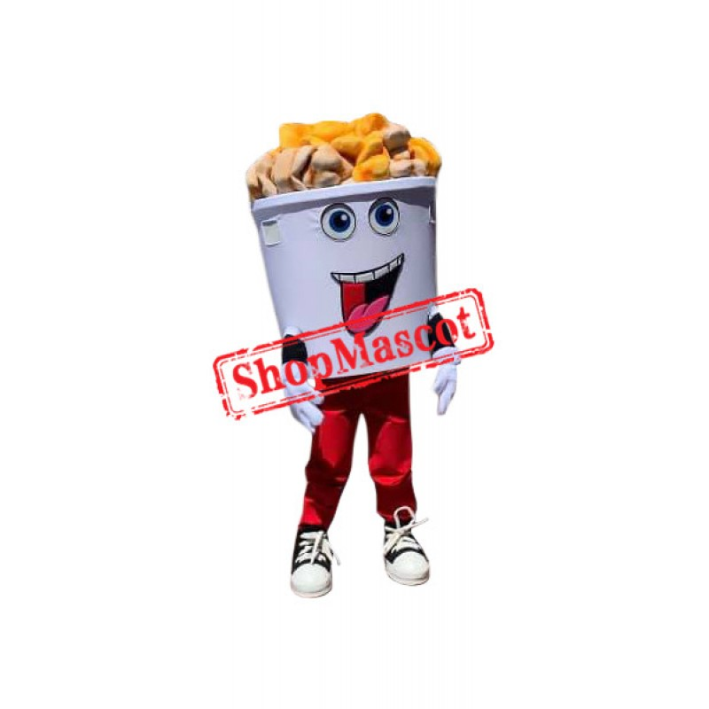 Superb Popcorn Mascot Costume