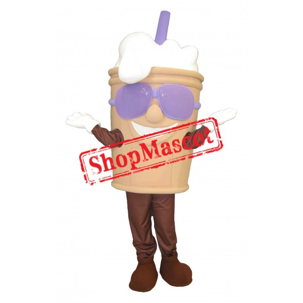 Frothy Drink Mascot Costume