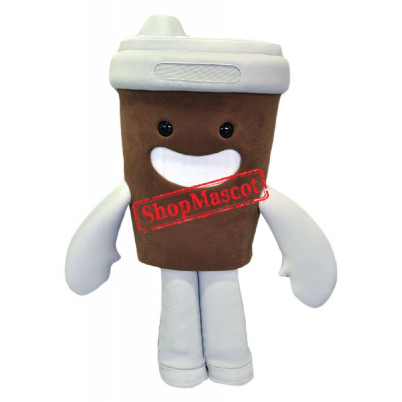 Lovely Coffee Cup Mascot Costume