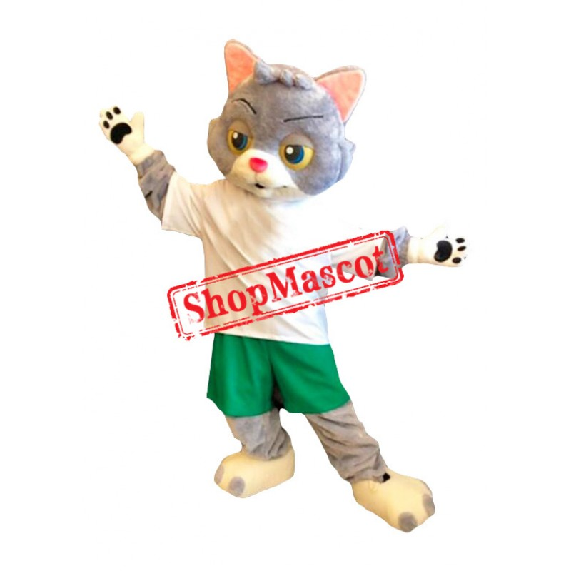 Lovely Realistic Cat Mascot Costume