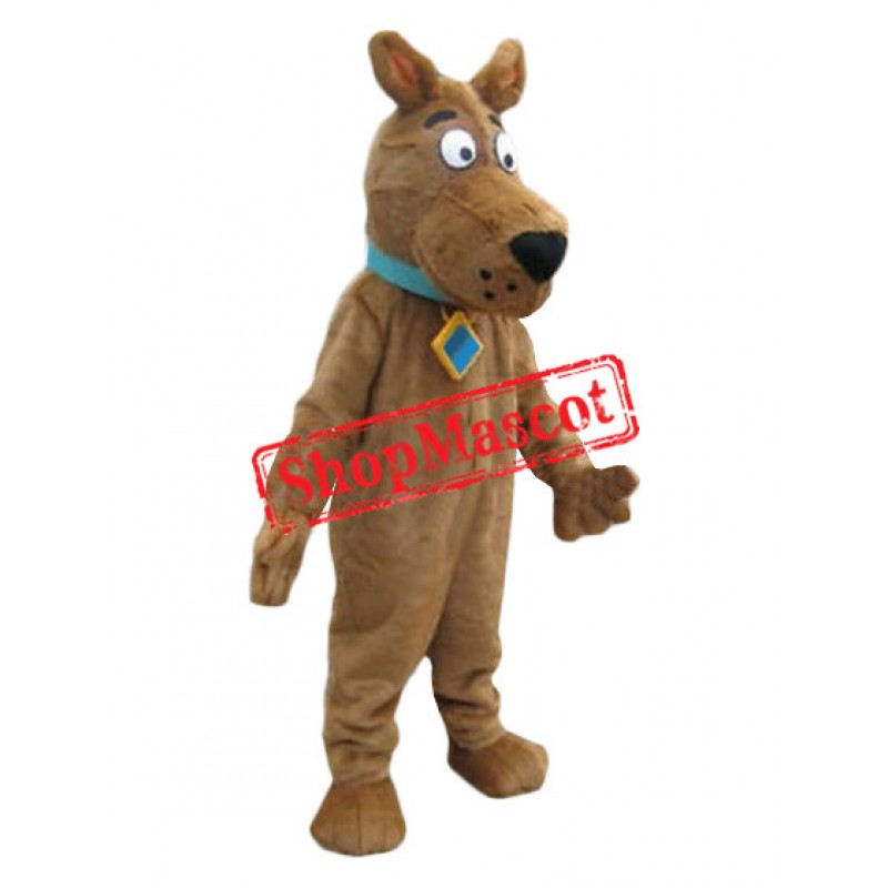 Affordable Scooby Mascot Costume
