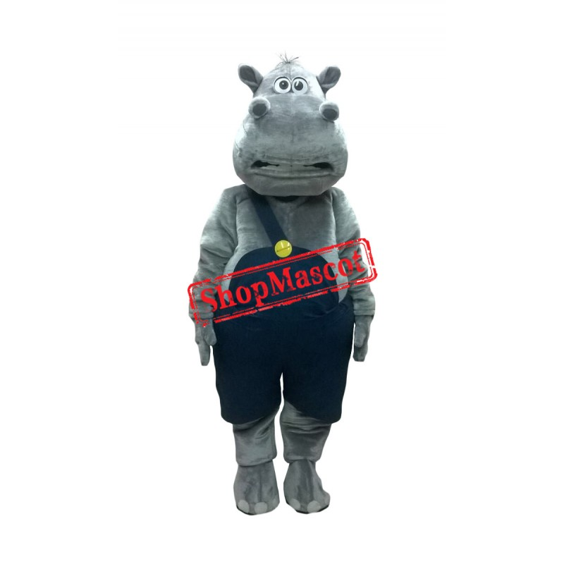 Superb Lightweight Hippo Mascot Costume