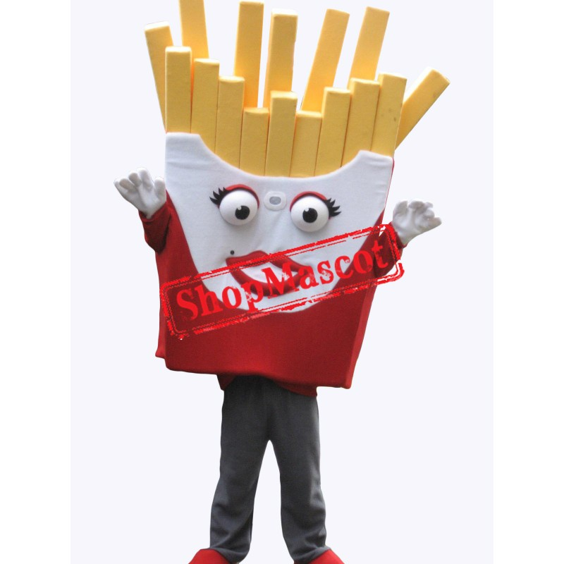 Cute French Fries Mascot Costume