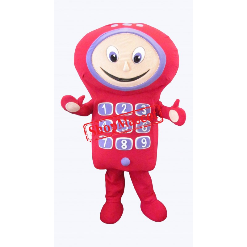 Children Mobile Phone Mascot Costume