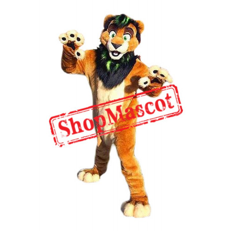 Friendly Lightweight  Lion Mascot Costume for Adult