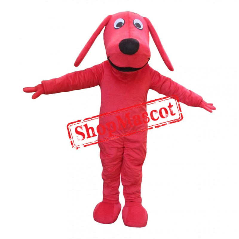 Affordable Clifford The Big Red plush Dog Mascot Costume