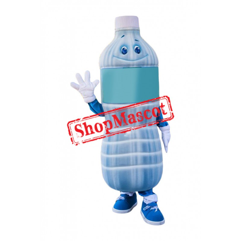 Mineral Water Bottle Mascot Costume