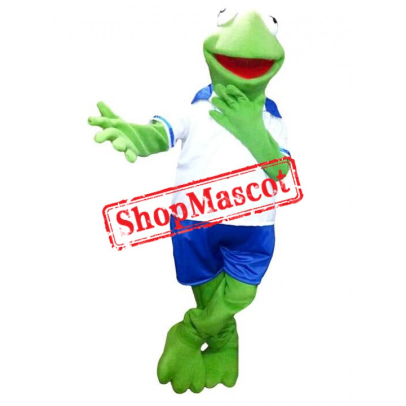Kermit the Frog Baby Muppets Mascot Costume