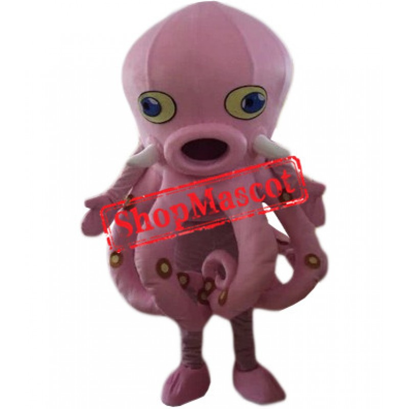 Affordable Pink Octopus Mascot Costume