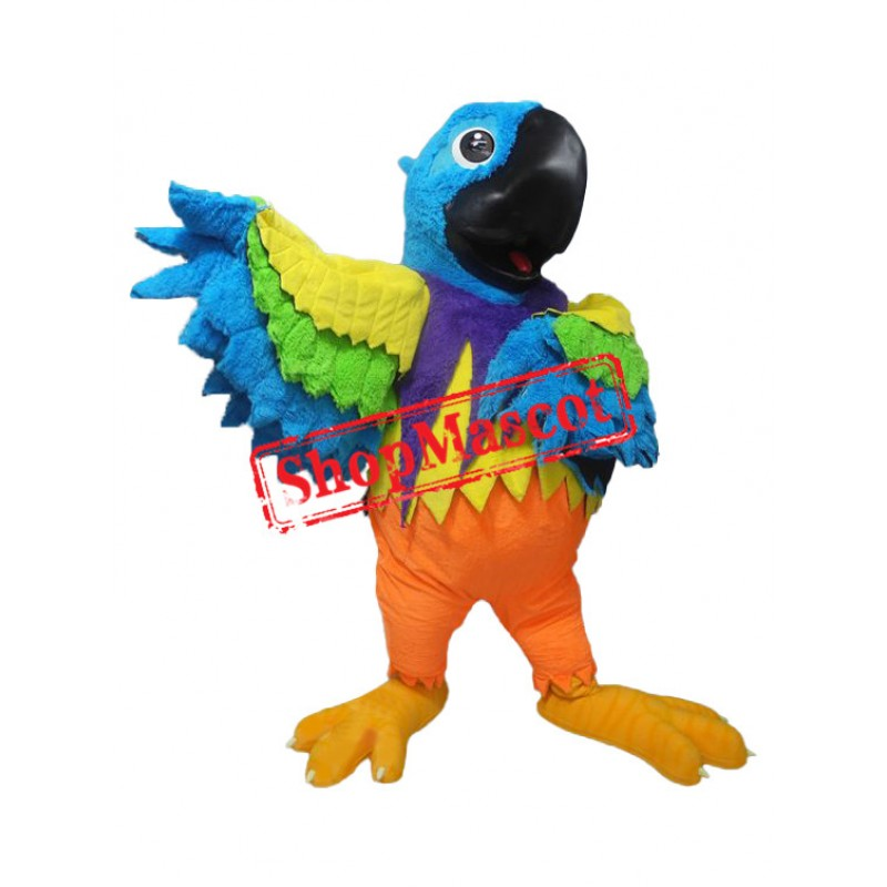 Colorful Parrot Mascot Costume