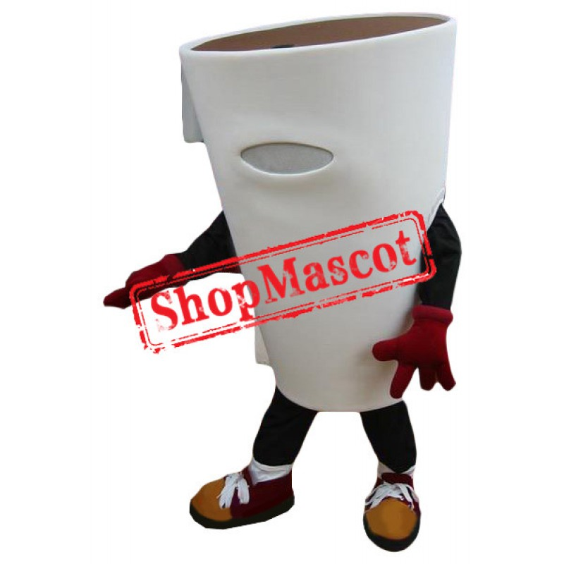 Lovely Lightweight Coffee Cup Mascot Costume
