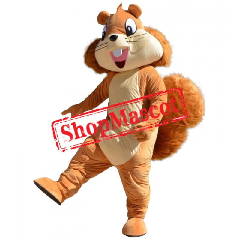 Affordable Happy Squirrel Mascot Costume