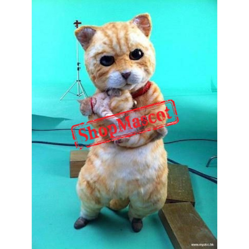 Lovely Realistic Lightweight Cat Mascot Costume