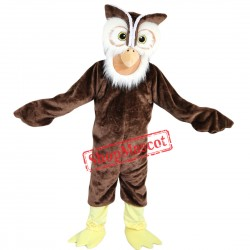 High Quality Owl Mascot Costume Adult Mascot Costume Free Shipping