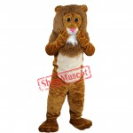 Brown Lion Mascot Costume Brown Lion Costume For Sale