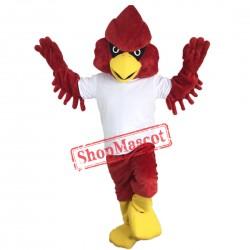 Red Falcon Hawk Eagle Mascot Costume Eagle Costume For Sale