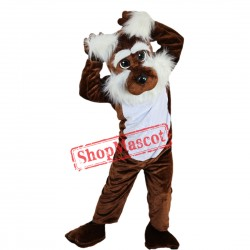 Cute Brown Dog Mascot Costume Custom Fancy Costume Anime Cosplay
